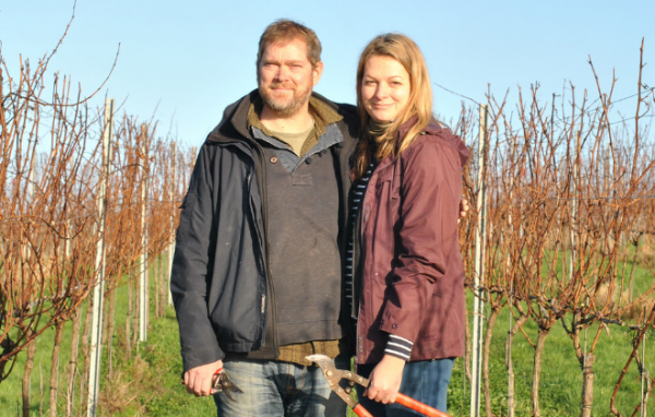Award winning vineyard fizzes with funding support